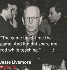 Jesse Livermore The Game Taught me