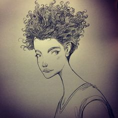 Photo Strong Female Characters, Ink Pen Drawings, Art Projects, Creative, Drawing Faces, Illustrations, Painting, Inspiration, Image