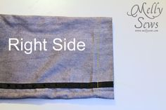 Keeping it Simple: How to do a blind hem {Melly Sews}