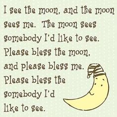 I See the Moon Kids Canvas Art by Wayfair