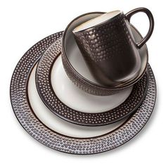 Barnet Bronze 16pc Dinnerware Set - Threshold™ already viewed already viewed