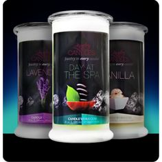 https://www.jewelryincandles.com/store/laburch Our Tranquility jewelry candle collection includes Day At The Spa, Lavender and Vanilla candles.  Full size 21oz jewelry candle - 100% all natural soy candle burns for 100 to 150 hours. Jewelry in every candle. YOU choose the jewel for EACH candle!