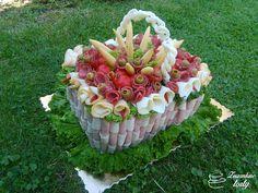 Torta Slaná košík