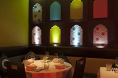 stylish indian restaurant interiors - Google Search