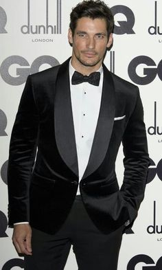 """GQ """"Men of the Year. """" David Gandy.  Look @ the perfectly fitted shoulders, tapered sleeves. Beautiful!!"""