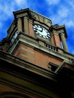 Harrismith The Clock Tower - Town Hall Free State, Town Hall, Towers, San Francisco Ferry, Big Ben, South Africa, Tourism, Clock, Watch