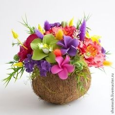 Aloha Party, Moana Birthday Party, Moana Party, Luau Party, Luau Birthday, Beautiful Flower Arrangements, Floral Arrangements, Flower Decorations, Wedding Decorations