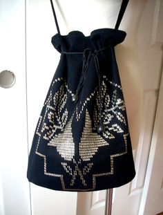 Free shipping Summer black women Tel Kirma work bag special design hand made light bag gift for mom accessories on Etsy, $85.00