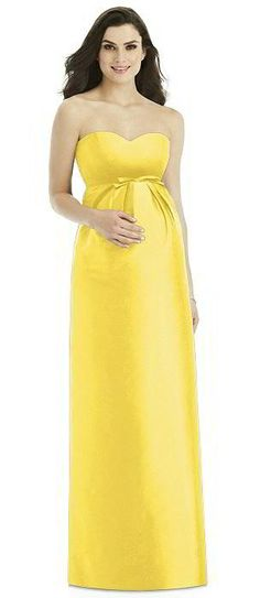 Dessy Collection Maternity Bridesmaid Dress M432 Maids By Pinterest Dresses And