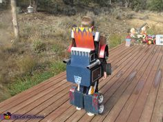 Optimus Prime (Transformers) - Halloween Costume Contest via @costume_works
