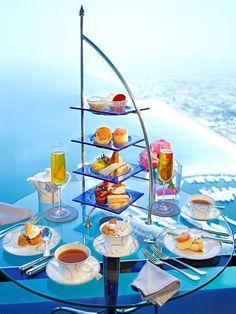 Burj Al Arab - Afternoon Tea
