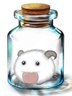 criatura. Bottle