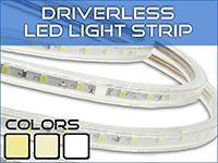 Driverless LED Strip Lights