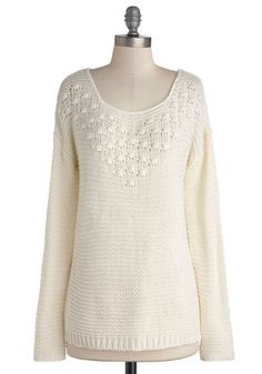 Pure Serenity Sweater, #ModCloth