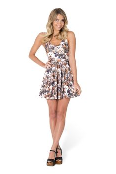Show Me Your Puppies Scoop Skater Dress (USA LIMITED/WORLDWIDE 48HR) by Black Milk Clothing $85AUD ($80USD)