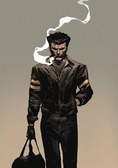 ArtStation - Logan - Wolverine, Dave Seguin