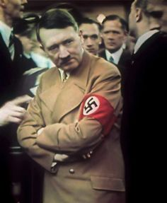 Adolf Hitler at the International Auto Exhibition in Berlin in 1939