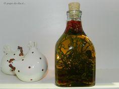 Oi gente! Hoje tem dica de azeite aromatizado no blog. Leia mais em : http://opapododiae.blogspot.com.br/