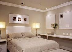 Meu Mini Apê: Inspiração: quarto de casal clean