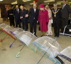 The Queen And Duke of Edinburgh Visit Fulton Umbrellas - Pictures ... - fulton umbrellas pictures