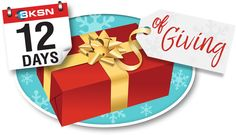 Check out KSN's 12 Days of Giving! You have a chance to enter every day to win great prizes from Dutch's Greenhouse, All Things BBQ, Salon Brands, Dock 410, Sigs Meats, Howard's Optical, Boot Barn, Wyldewood Cellars & Jewelry Savers! I just entered!!