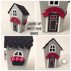 Stamp · Pray · Love: 3-D Thursday Holiday Catalog Sneak Peek - Sweet Home Bundle
