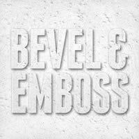 Bevel & Emboss Photoshop tips