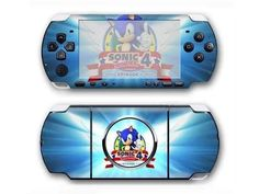 Sonic the Hedgehog PSP 3000 skin for PSP 3000 console. Choose your favorite design from a huge range of PSP 3000 skins collection for PSP 3000 console. Xbox One Skin, Console Styling, Sonic Heroes, Ps4 Skins, Psp, Games To Play, Sonic The Hedgehog, Decal, Sticker