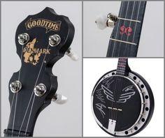 Mumford and Sons Signed Custom Denmark Charity Banjo Auction
