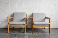 Borge Mogensen Oak Armchair (only one available)