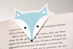 DiY : marque-page renard Free Printable Bookmarks, Bookmarks Kids, How To Make Bookmarks, Printable Planner, Free Printables, Diy Marque Page, Diy Originales, Diy For Kids, Crafts For Kids