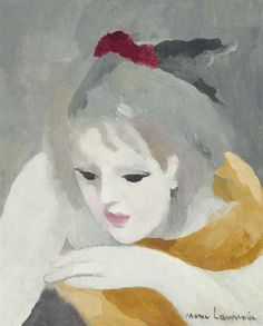 Marie Laurencin (France Tête pensive oil on canvas x Matisse, Contemporary Artists, Modern Art, Lawrence Lee, Tate Gallery, Best Portraits, Chef D Oeuvre, Post Impressionism, Art Moderne