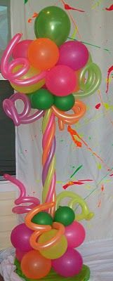 Decoración de globos