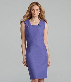 Preston & York Aileen Jacquard Dress | Dillards.com