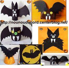 les chauves souris à découvrir dans ma rubrique d'halloween sur mon blog