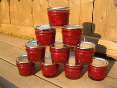 Strawberry Anise Hyssop Jam