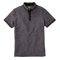 Slim Herring River Stripe Polo manches courtes Homme