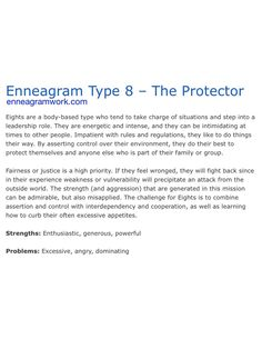 enneagram type 5 and 8 relationship killers