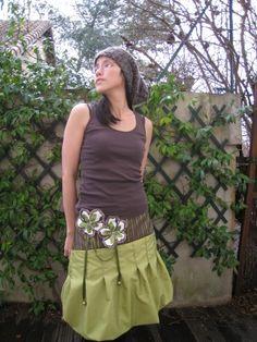 Tutorial bubble skirt