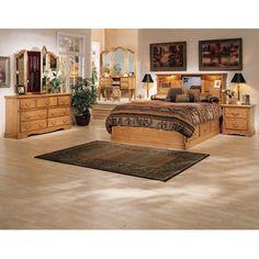Bebe Furniture Country Heirloom Platform Bed