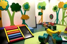 Great for a church, fitness center, airport terminal, library, children care center or family entertainment center. We have been creating fun since Kids Play Area Indoor, Toddler Play Area, Toddler Playground, Soft Play Area, Kids Play Spaces, Indoor Toddler Gym, Playground Ideas, Soft Play Equipment, Kids Gym