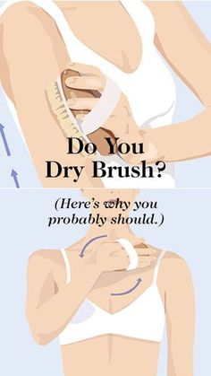The practice of brushing the skin once or twice daily with a soft but firm brush is essential during a detox, but the benefits of simply making it a permanent habit are even more important: It's said to boost circulation, sweep away dead skin cells, stimulate the lymph nodes, improve digestion, improve the appearance of cellulite, and help the cells and body in general remove waste. Here, how to dry brush and what you need to do it.