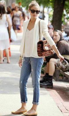 Olivia Palermo- Chic Daytime Outfit (my style, if I was super chic like Olivia P) Fashion Mode, Look Fashion, Autumn Fashion, Womens Fashion, Fashion Trends, Fashion Clothes, Fashion Black, Petite Fashion, Curvy Fashion