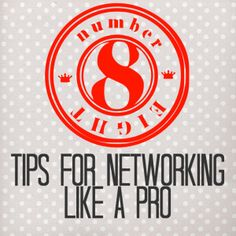 Networking is an important step of job searching. Learn how to network like a pro.