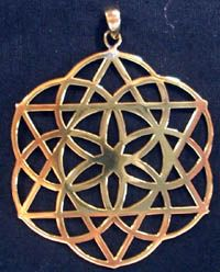 Seed of Life w/ Star of David Necklace