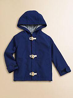 cdb540485adc8 Andy & Evan - Infant's Hooded Microfiber Parka Baby Boy Fashion, Kids  Fashion,
