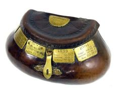 A fine 19th century leather pot-bellied fishing creel, which sold in 1951 for £1, made £12,000 at Bonhams Henley Sale of fishing equipment a...