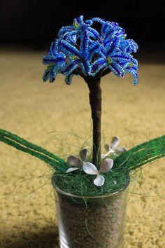 Kék szerelem virág