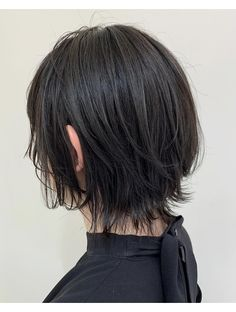 Cut My Hair, Hair Color For Black Hair, Hair Cuts, Short Hair With Bangs, Girl Short Hair, Edgy Short Hair, Shot Hair Styles, Curly Hair Styles, Black Hair Japanese