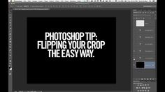 Photoshop 30-second Tip: Flipping The Crop (MicroTip from Scott Kelbyt)